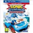 Sonic & All-Stars Racing : Transformed - édition limitée sur Ps Vita à 31.44€ au lieu de 39.90€