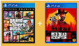 Bon plan Leclerc culturel : Red Dead Redemption 2 + GTA V édition premium à 32,90€