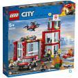 Bon plan Auchan : LEGO City 60215 - La caserne de pompiers