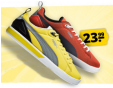 Bon plan Sportspar : Chaussures PUMA Future Suede Lite Tech Low - Top Sneaker jaune ou orange à 23.99€