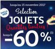 40% dès 50€, 50% dès 75€ et 60% dès 100€ sur les jouets @ Auchan