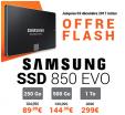 Jusqu'à 70€ de remises sur les SSD Samsung 850 Evo 250 Go, 500 Go et 1 To @Macway