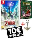 Bon plan Fnac : The Legend of Zelda: Skyward Sword HD Switch à 49.99€ + porte clé + livre + 10€ de chèques cadeaux adhérents
