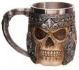 Bon plan  : Tasse à café, lait ou bière en acier inoxydable en forme de crane à 9,45€