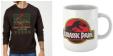 Sweat de noël Jurassic Park + mug à 16.99€ @ Zavvi