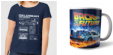 Bon plan Zavvi FR : Tshirt + Mug retour vers le futur homme ou femme à 9.99€