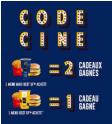 Dès le 19/02 : Opération Code Ciné @ McDonalds