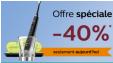 Aujourd'hui seulement : -40% sur toute la gamme Sonicare @ Philips