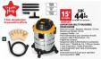 FEDER Aspirateur - Eau et poussière - 1250 W 20 L - FHAEP125020L à 44.9€ au lieu de 59.9€ @ Auchan (en magasin)