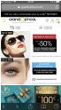 -50% sur des lunettes de soleil ray ban, Polaro�d,.... @ Gran Optical