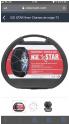 Bon plan Cdiscount : Chaîne de neige ICE STAR 9mm à 9.99€ au lieu de 49.99€