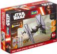 Maquette sans colle Revell Build & Play Star Wars Tie Fighter à 12.96€ / Poe's X-Wing Fighter à 13.93€ au lieu de 25€ @ Amazon