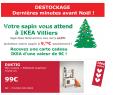 Destockage Sapin @ Ikéa Villiers/Marne