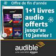 Prime : 3 premiers livres audio gratuits (et 2 pour les non Prime) @ Audible
