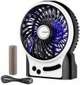 Mini Ventilateur de Table Rechargeable Silencieux 2600mAh à 8.49€ @ Amazon (Vendeur Tiers)