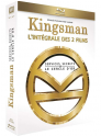 Coffret Blu-Ray Kingsman : Services Secrets + Kingsman : Le Cercle d'Or - 2 Films à 9,99 euros @ Amazon