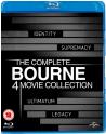 Bon plan Zavvi UK : Coffret Bluray Jason Bourne - Quadrilogie 12,79€