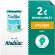 2€ de réduction immédiate - Lait Modilac Doucéa Croissance : de 10 à 36 mois @ Payps