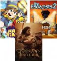 [PC/Steam] Conan Exiles + The Escapists 2 + A Hat in Time + 6 autres jeux bonus pour 12$/10€ @ Humble Monthly