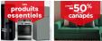 Sélection de promos literie, meubles, electroménager, déco + 10% dès 2 articles sur une sélection @ Conforama