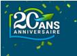 Promotions 20ème Anniversaire @ Rueducommerce