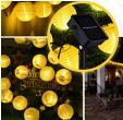 Bon plan Amazon : Guirlande 20 lanternes à Leds avec capteur solaire  étanche IP65 à 6.64€ au lieu de 13.29€