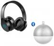 Casque pliable Bluetooth 4.2 avec micro pour iPhone, iPad, Mac, PC + Haut parleur boule de noel bluetooth offert à 14.99€ au lieu de 39.99€ @ Amazon (vendeur tiers)