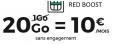 Forfait mobile Red illimité 20Go pour 10€ par mois à vie @ Red by SFR