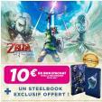 The Legend Of Zelda Skyward Sword Edition Hd SWITCH + Steelbook à 59.99€ + bon d'achat de 10€ dès 15€ @ Micromania