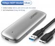 Ugreen M2 boîtier SSD boîtier NVME M.2 à USB Type C 3.1 à 7.64€ au lieu de 11.97€ @ Aliexpress