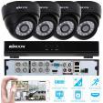Kits de Surveillance CCTV 8CH H.264 960H/D1 DVR avec 4 Caméras 800TVL à 81,17€ au lieu de 98,99€ @ Amazon (tiers)