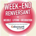 CDAV : 20€ dès 99€ et 50€ dès 249€ en literie, meuble et décoration @ Cdiscount