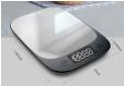 Balance de cuisine numérique ultra slim 5kg / précision 1g à 6.67€ @ Aliexpress
