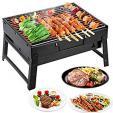 Barbecue à Charbon en Acier Inoxydable Pliable à 8.49€ au lieu de 16.99€ @ Amazon (vendeur tiers)