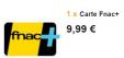 Carte Fnac+ pour 9.99€ au lieu de 49.99€ @ Vente privée