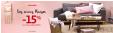 -15% sur votre article préféré sur une sélection maison @ Auchan