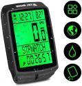 Compteur de vitesse sans fil - 5 indicateurs vocaux - Alarme automatique - Chronomètre étanche - rétro-éclairage ) 10.96€ au lieu de 19.39€ @ Amazon