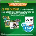 [Carte Wahoo] Pack Xbox One S 500 Go + 1 jeu à 279€ + 120€ de crédit Wahoo soit 159€ après remise @ Auchan