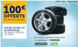 15€ à 100€ en bon d'achat offert pour l'achat de 2 ou 4 pneus Hiver ou 4 Saisons @ Norauto