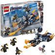 LEGO Marvel Super Heroes Captain America et l'attaque des Outriders 76123 à 13.99€ au lieu de 21.24€ @ Amazon
