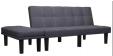 Canapé-lit 2 places avec pouf à 144.88€ livré depuis la France (plusieurs coloris) @ Aliexpress