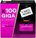 Boîte de 100 capsules de café Carte noire compatible Nespresso (Espresso intense n°9) à 12.99€ @ Amazon