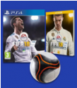 Fifa 18 Ps4 / Xbox one + Guide + ballon à 24.99€ @ Fnac