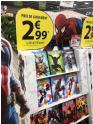 Bon plan Carrefour : Sélection de 10 comics à 2,99€ (offre de lancement)
