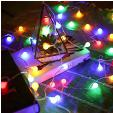 Guirlande Lumineuses Boules avec Télécommande 10m 100 LEDs 8 Modes Etanche à 5.99€ au lieu de 19.99€ @ Amazon (vendeur tiers)