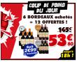 Bon plan Cdiscount : 18 Bouteilles de Bordeaux (6 Château Puit de Parre 2010 + 6 Château Belvue cuvée Anaïs 2011 + 6 Château Belle Cure 2010) à 53.8€