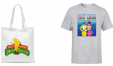 Lot Tshirt + Tote bag Power Rangers à 9.99€ @ Zavvi