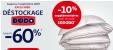Bon plan Auchan : Jusqu'à 60% sur les oreillers et couettes + 10% supplémentaires sur la marque Dodo