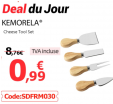 Lot de 4 couteaux à fromage à 1€ au lieu de 6.14€ @ Aliexpress