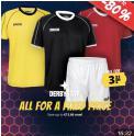 Maillots ou shorts de sport à 3.33€ @ SportOutlet